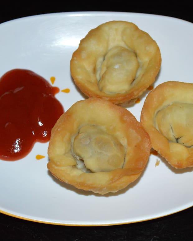 how-to-make-vegetarian-fried-wontons