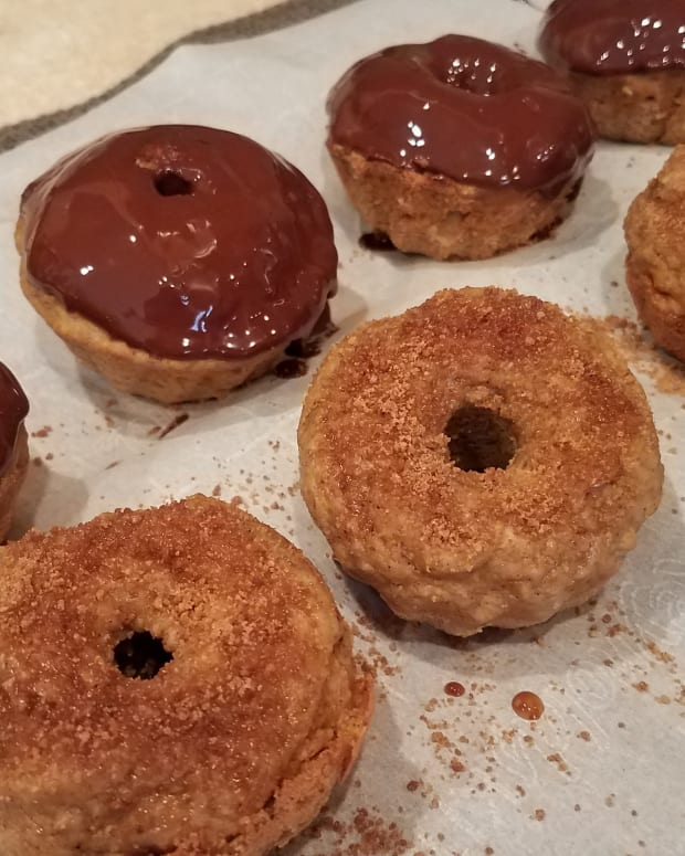 homemade-clean-eating-pumpkin-donuts