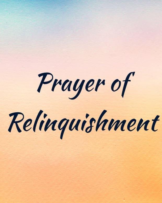the-prayer-of-relinquishment