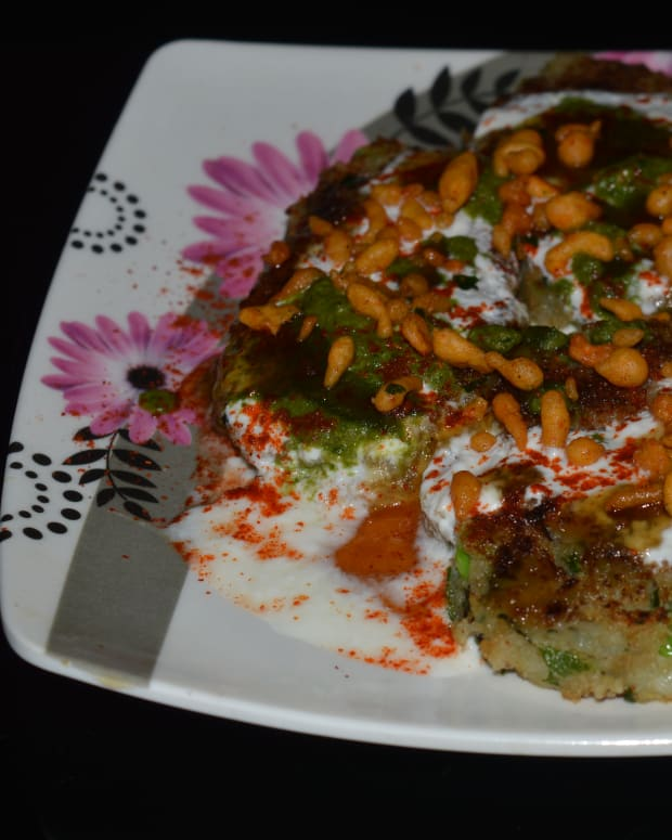 healthy-snacks-potato-tikki-chat-recipe