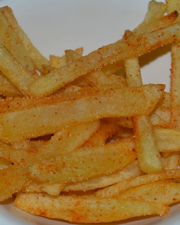 healthy-snacks-home-made-french-fries-recipe
