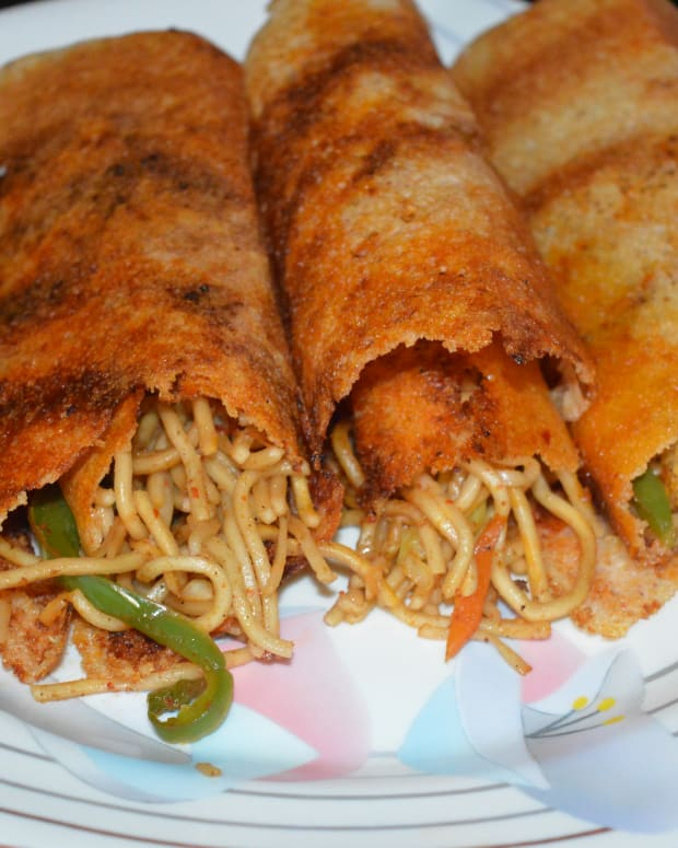 healthy-snacks-schezwan-dosa-or-spring-dosa-recipe