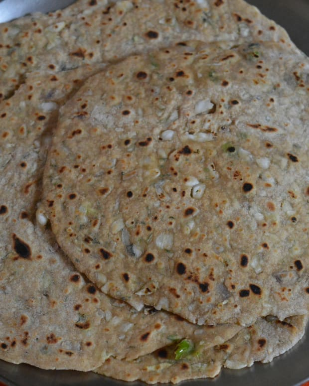 cabbage-and-onion-paratha-a-healthy-breakfast-recipe