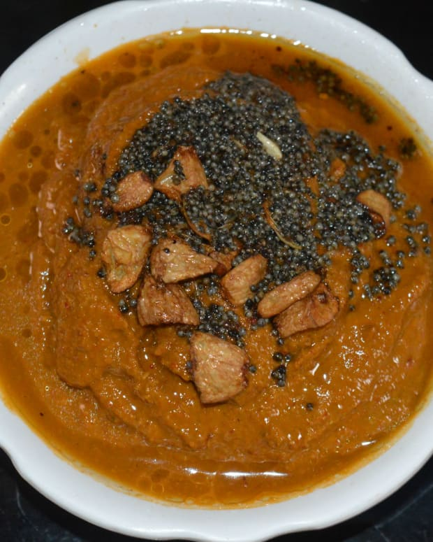 a-step-by-step-guide-for-making-taro-leaves-colocasia-leaves-chutney-or-sauce