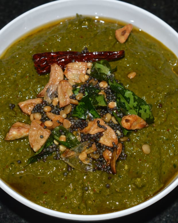 how-to-make-moringa-leaves-drumstick-leaves-chutney