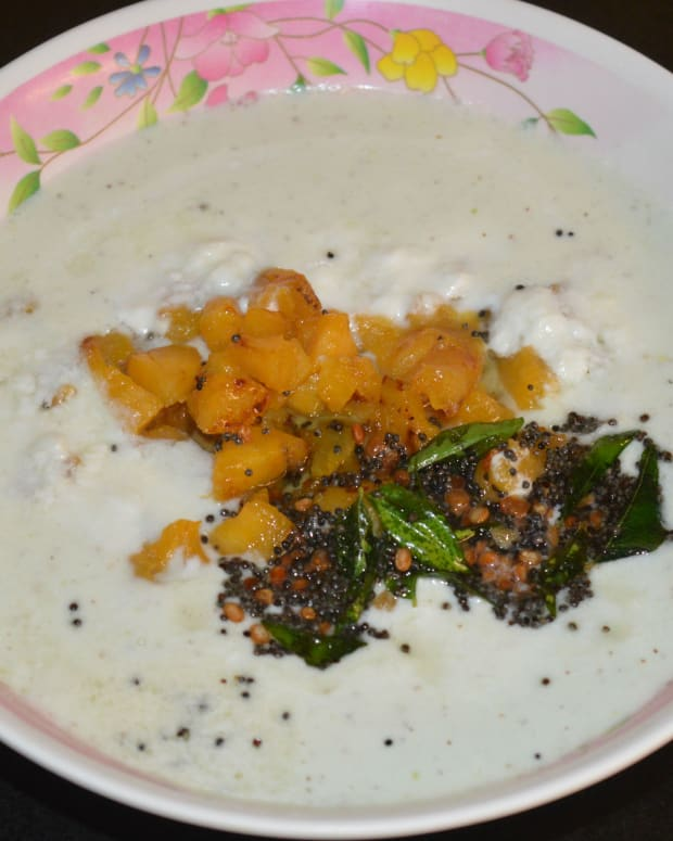 ripe-plantain-or-nendra-banana-raita-recipe