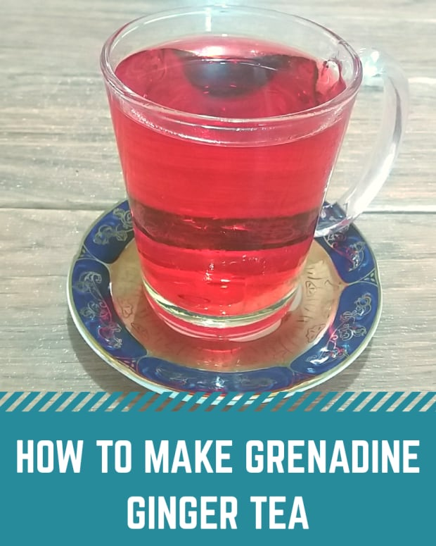 how-to-make-grenadine-ginger-tea