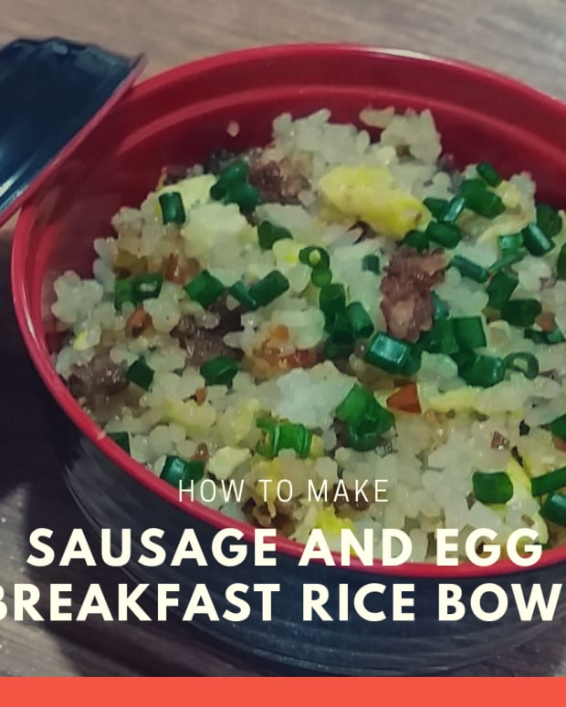 how-to-make-sausage-and-egg-breakfast-rice-bowl