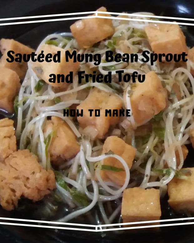 how-to-make-sauted-mung-bean-sprout-and-fried-tofu