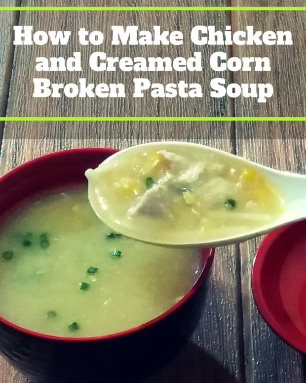 how-to-make-chicken-and-creamed-corn-broken-pasta-soup