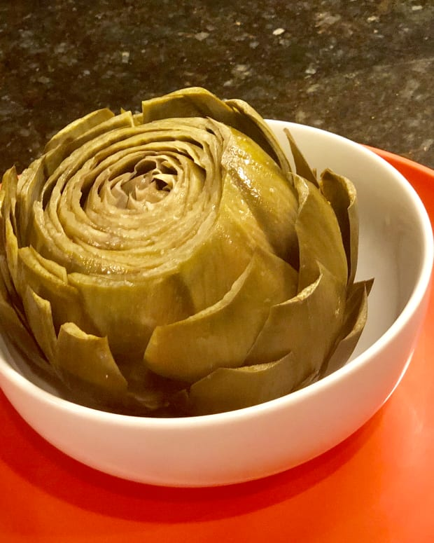 fresh-steamed-artichoke