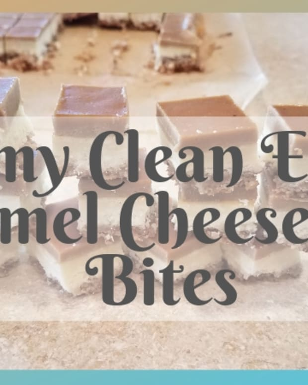 creamy-clean-eating-caramel-cheesecake-bites