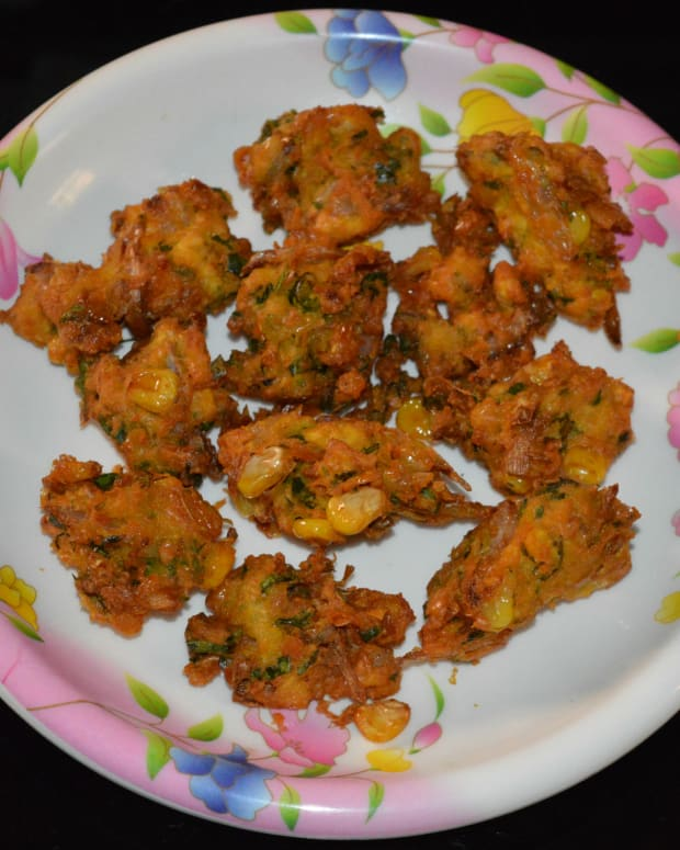 how-to-make-corn-fritters-sweet-corn-pakora
