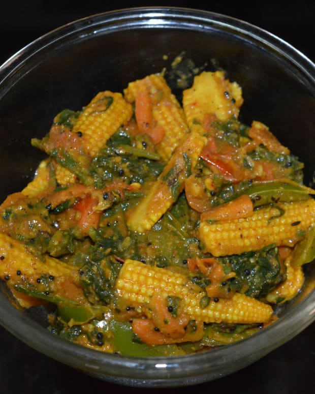 baby-corn-spinach-curry-baby-corn-spinach-stir-fry