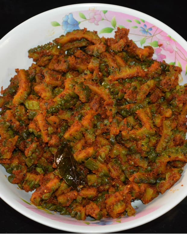 diabetic-food-spicy-bitter-gourd-curry-with-peanut-masala