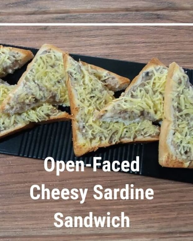how-to-cook-open-faced-cheesy-sardine-sandwich