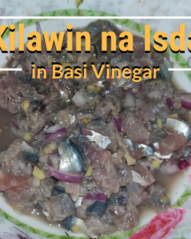 how-to-make-kilawin-na-isda-in-basi-vinegar
