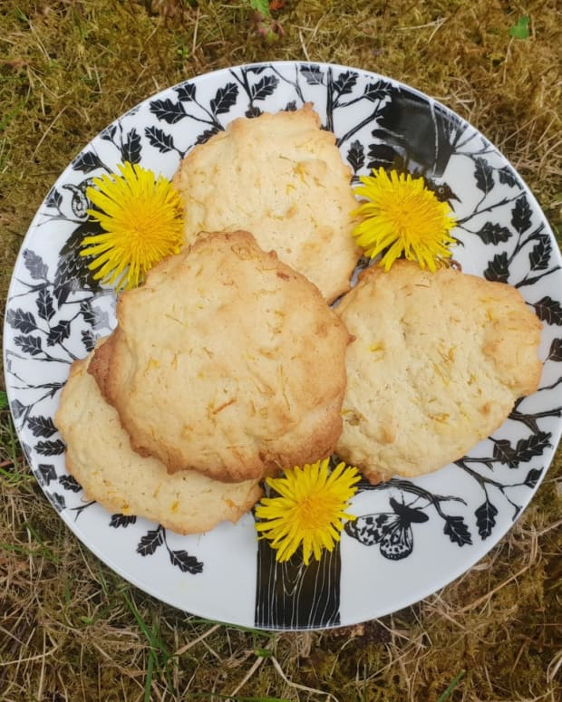 how-to-make-dandelion-biscuits-uk-recipe