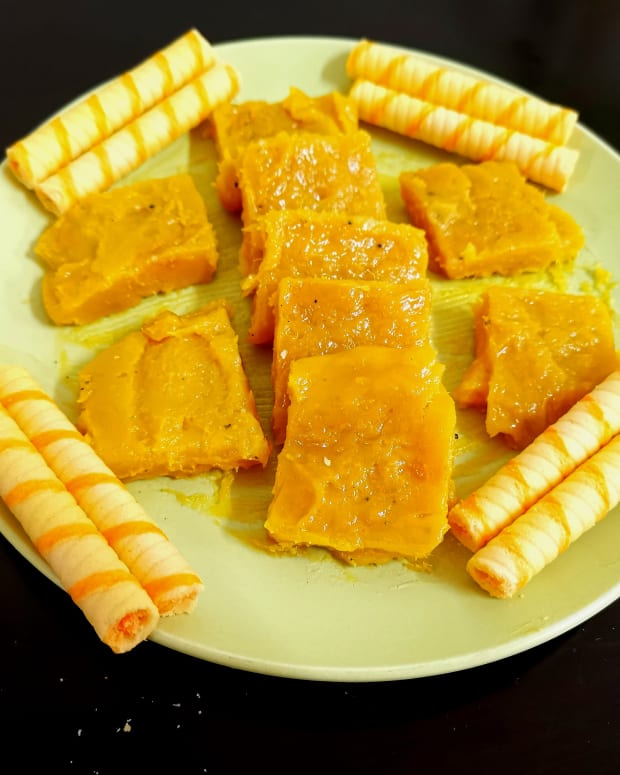 mango-custard-halwa