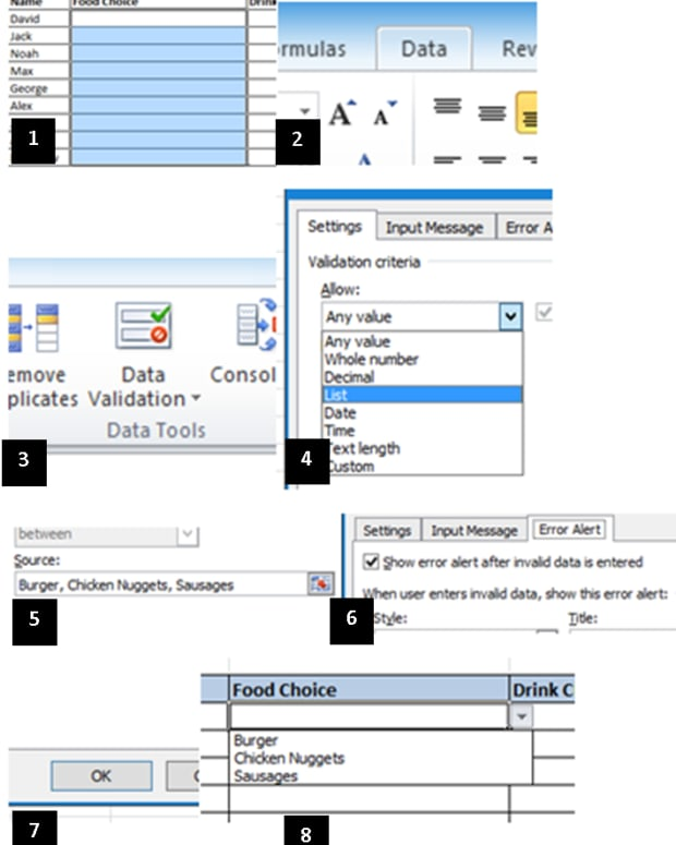 how-to-create-a-drop-down-menu-in-microsoft-excel