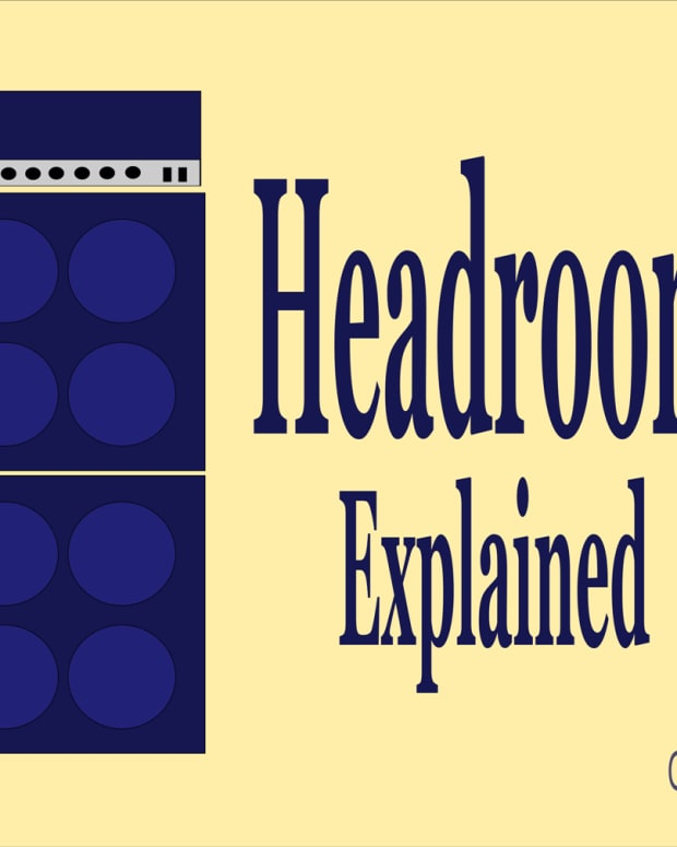 what-is-headroom-for-guitar-and-bass-amps