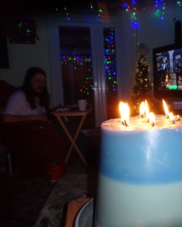 how-to-make-a-volcano-candle