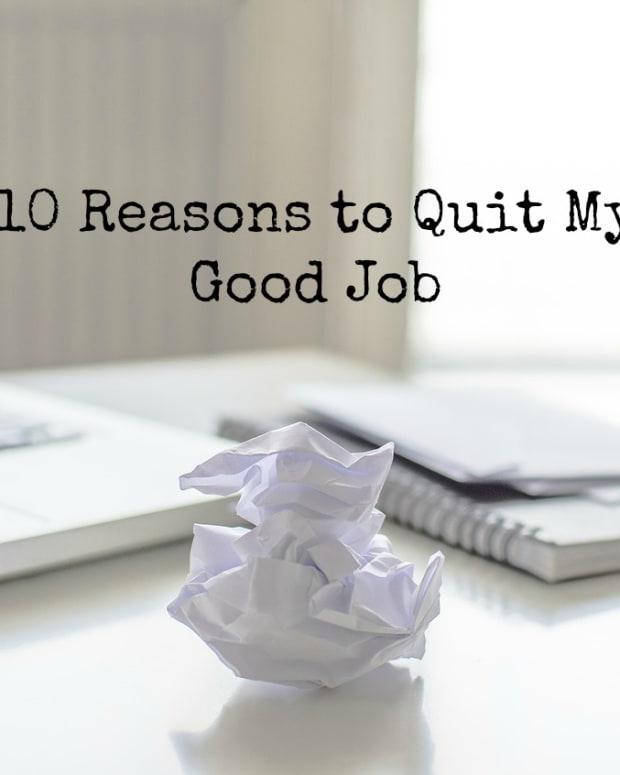 10个原因 - 退出你的工作