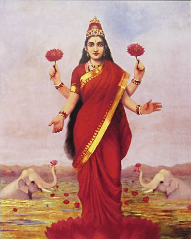 hindu-mythology-lakshmi-and-the-clever-washerwoman