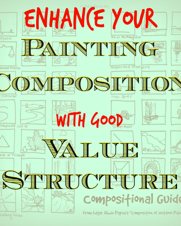 Enhance your painting composition with a good value structure.