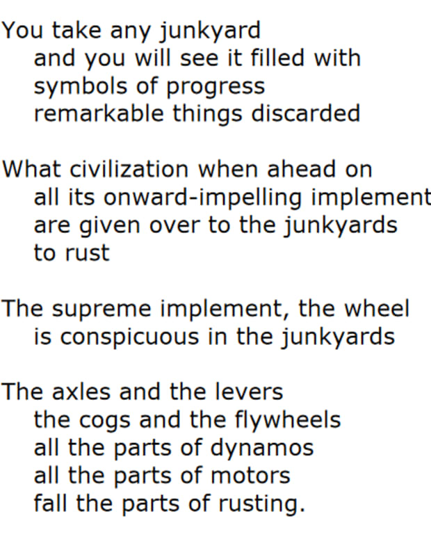 analysis-of-poem-junkyards-by-julian-rayford