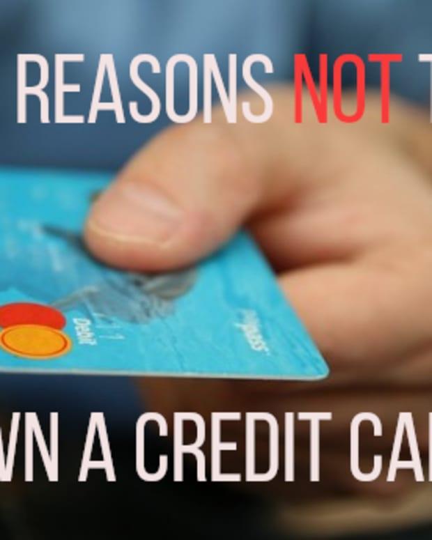 原因 - 不是 - 获得信用卡