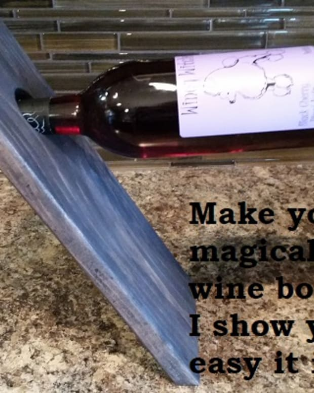 how-to-make-a-floating-wine-bottle-holder