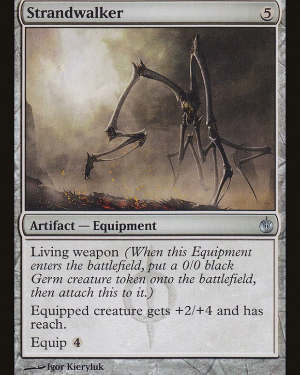 best-living-weapon-equipment-mtg