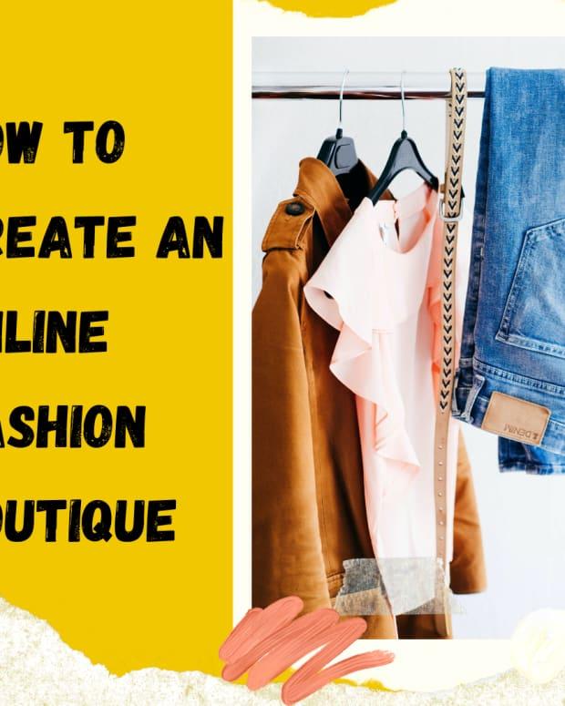 如何创建 - 在线 - 时尚精品 - 没有钱