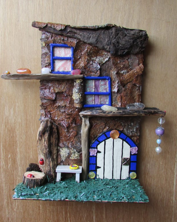 how-to-make-a-fairy-tree-house-fairy-door-window-doors-windows-gardens