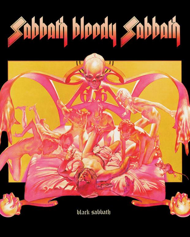 Sabbath Bloody Sabbath (1973). Artwork by  Drew Struzan. Copyright of Vertigo Records. HQ version provided by fanart.tv.