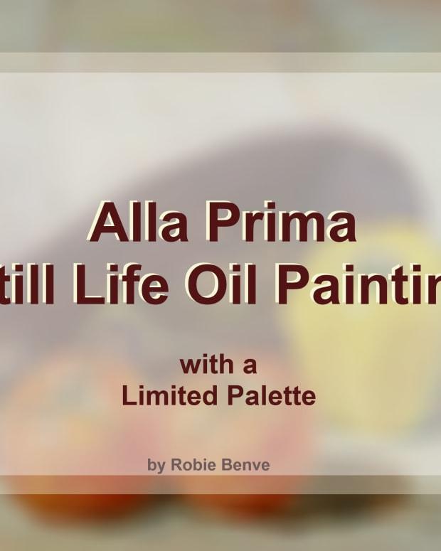 Alla prima still life oil panting.