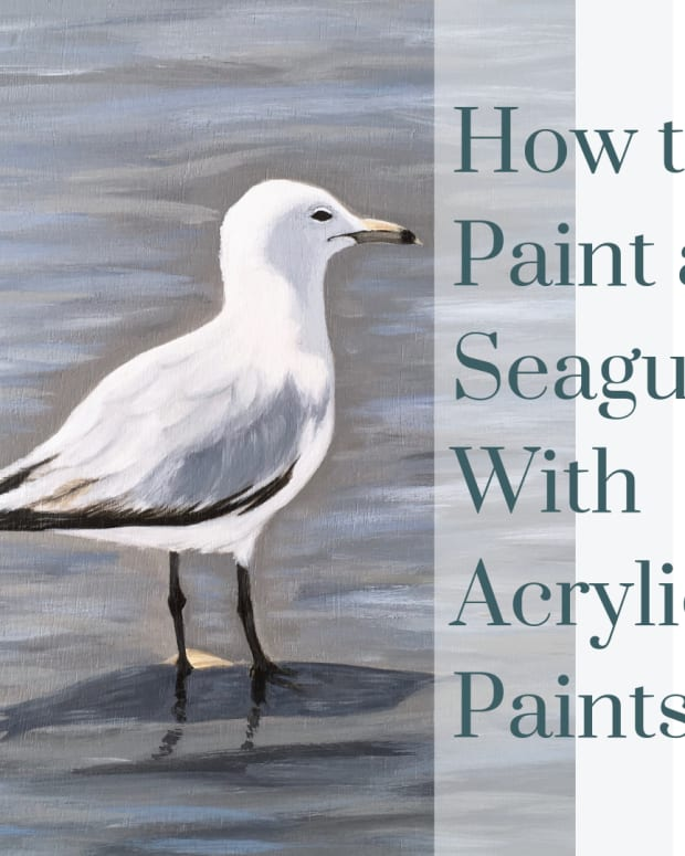 how-to-paint-a-seagull-in-acrylic