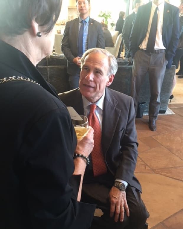 texas-governor-greg-abbott-encourages-people-to-vote-in-elections