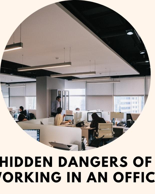 隐性危险 - 在办公室工作