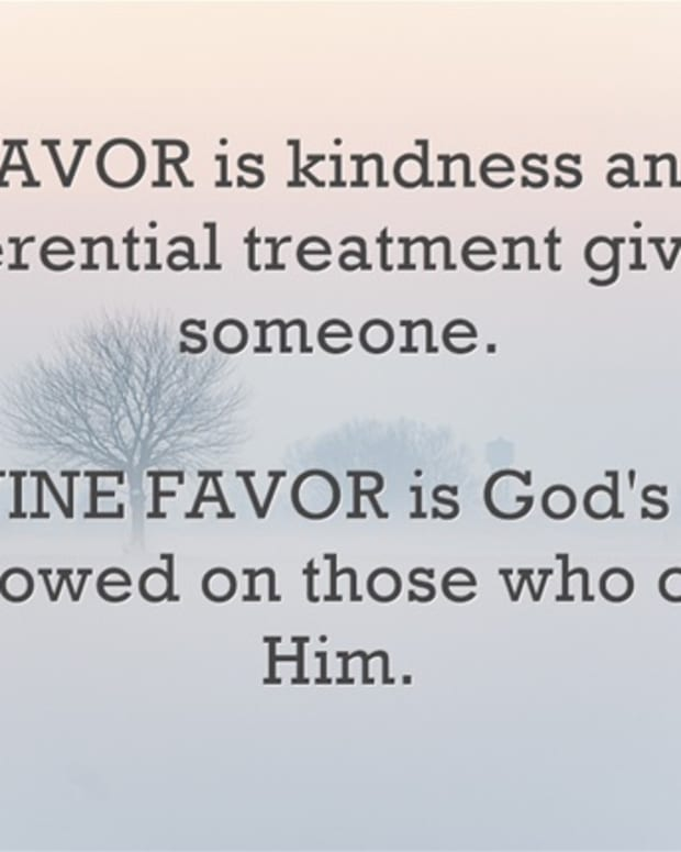 how-to-walk-in-divine-favor