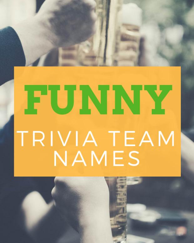 trivia-team-names