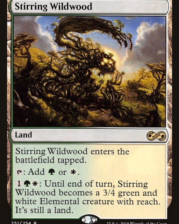 best-green-and-white-lands-mtg