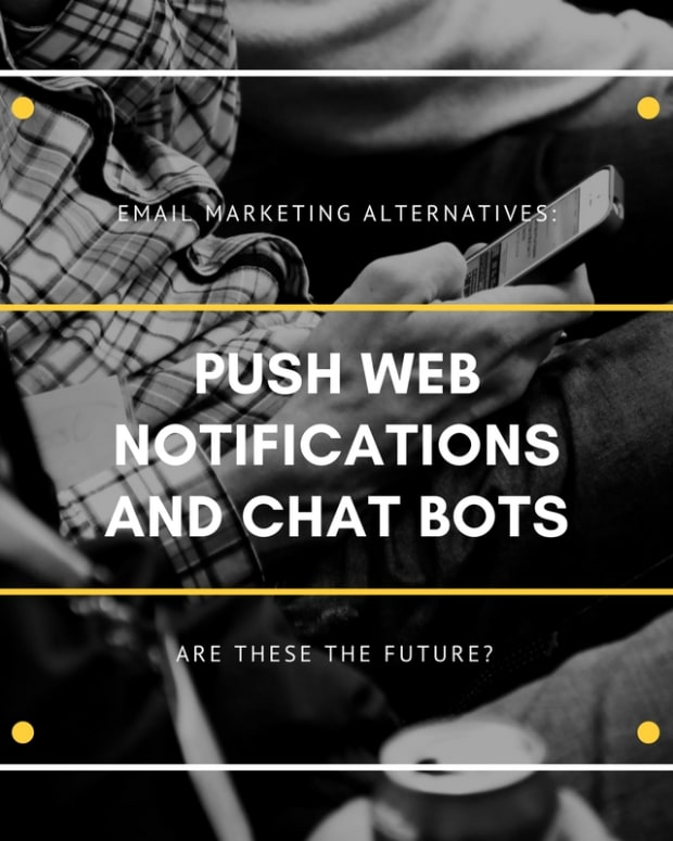电子邮件营销 - 推送网络通知 - 聊天机器人