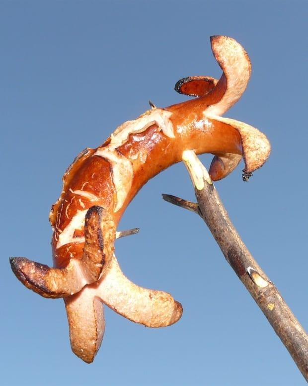sausage-on-sticks