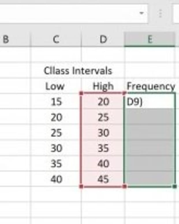 frequency-distribution-table-in-excel