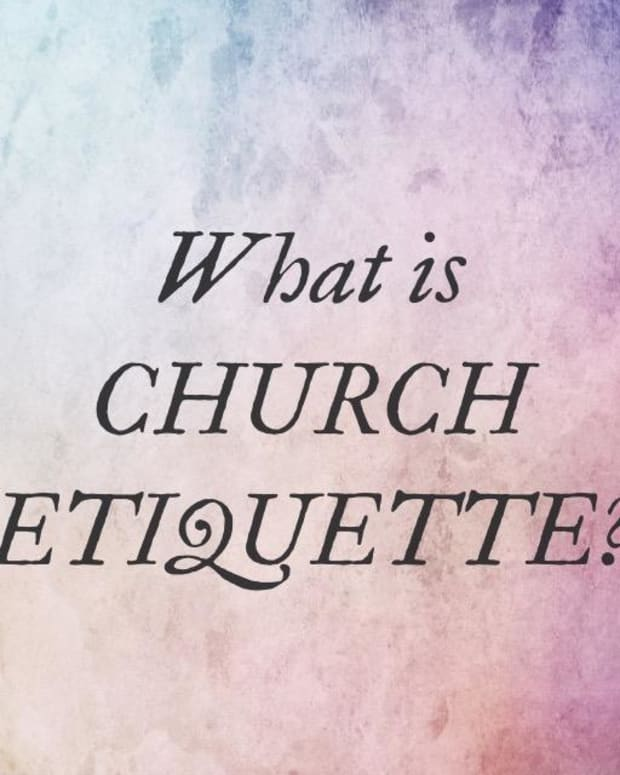 church-etiquette