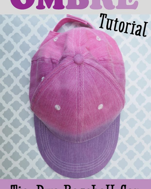 how-to-ombre-tie-dye-a-baseball-cap
