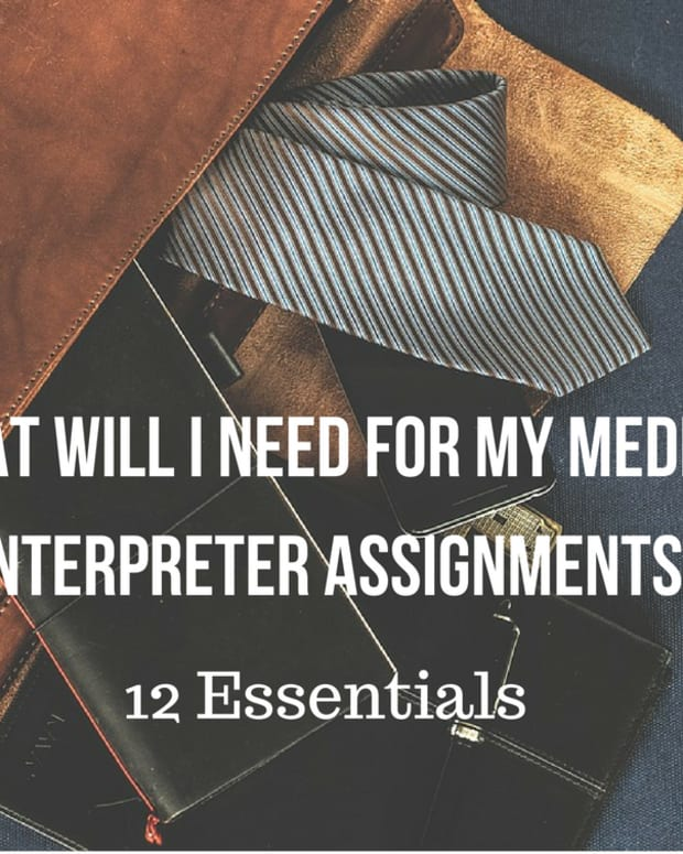medical-interpreter-assignment-essentials-what-to-take-with-you