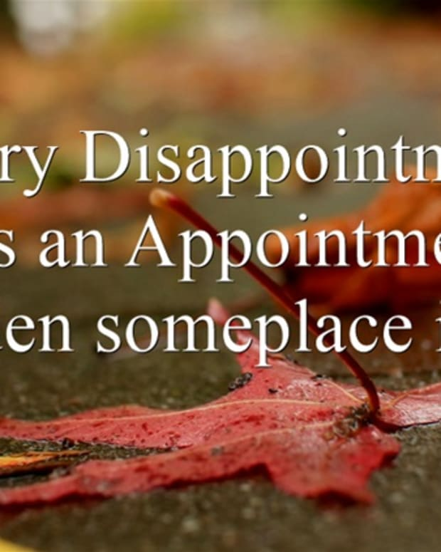 how-to-turn-a-disappointment-into-an-appointment